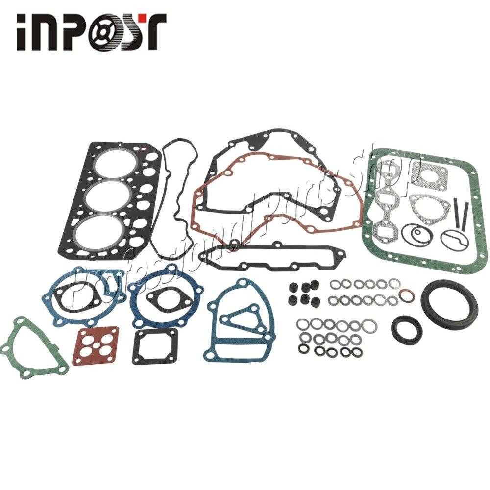For Mitsubishi S3L S3L2 Full Gasket Kits Head Gasekt 31B01-23200 Fit Peljob EB250 EB300 EB306 Mini Excavators
