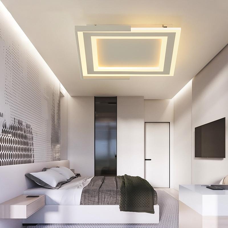 Woonkamer Ideeen Zwart.Sara Tommasi Goede Koop Vierkante Moderne Led Plafond