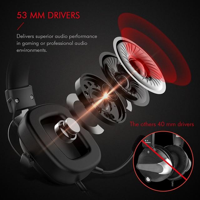 Havit wired headset gamer pc 3.5mm ps4 fones de ouvido surround sound & hd microfone jogos overear tablet portátil gamer 4