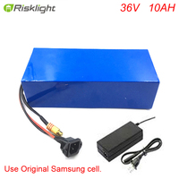 Electric bike battery 36V 10ah electric bike Lithium Battery for 36V 500W 8fun bafang mid motor BBS HD