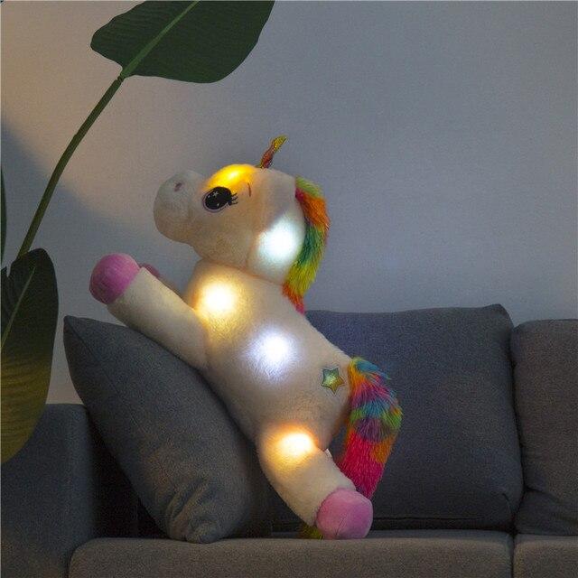 Peluche LED de Unicornio 1