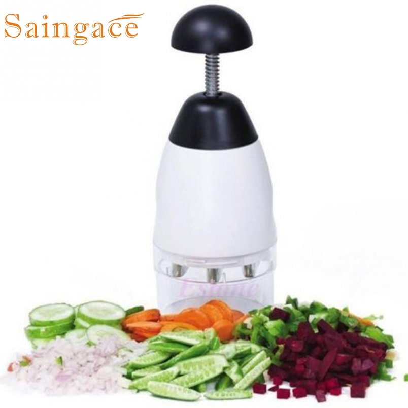 Saingace Fruit & Vegetable Tools Slap Chop Food Chopping Cutter *20 2017 Drop