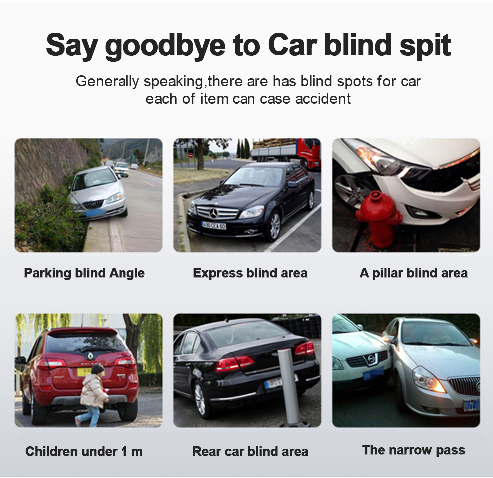 Panoramic Rearview Camera 360 Degree Parking System Auto Car Camera All Round Night Vision Waterproof Reverse Camera De Recul (3)