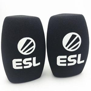 Image 5 - Linhuipad mikrofon schwamm drucken covers angepasst mic windscreens logo schaum windschutzscheibe für TV stationen reporter interview