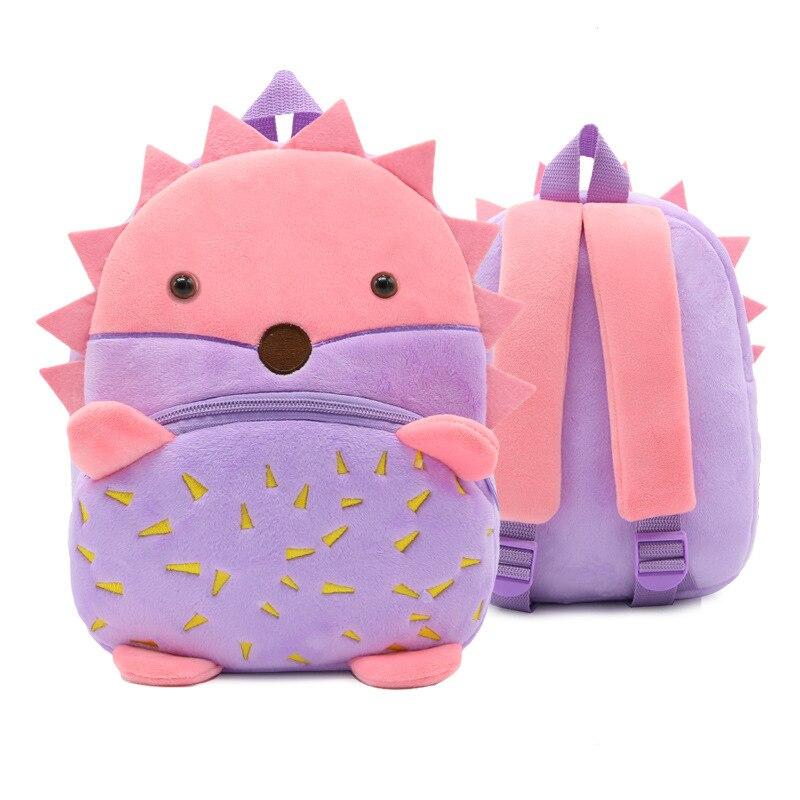 Kinder 3D Schule Rucksack Winmax Baby Kinder Nette Tier Design Spielzeug Bookbag Kleinkind Mädchen Jungen Kindergarten Cartoon Schule Taschen