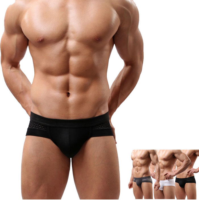 Mens Cotton Underwear Shorts Underpants Boxer Briefs Hot Shorts Male Panties Man Boxer