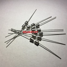 250V Fuse NIUKETAT with Lead-Wire F8A New And Original Glass-Tube Fast-Axial 100pcs