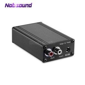 Image 1 - Nobsound mini amplificador de vinil, pré amplificador de fono, palco mm, plataforma giratória riaa, classe única, preamp discreto