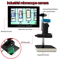 camera computer Microscope sets 16MP HDMI Output Video Digital Adjustable Microscope Camera for Electronic phone Computer Repair tools (1)