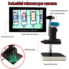 Microscope sets 16MP HDMI Output Video Digital Adjustable Microscope Camera for Electronic phone Computer Repair tools недорго, оригинальная цена