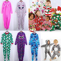 Kids Fleece Romper Quality Brand Long Sleeve Jumpsuits Children Blanket Pajamas Plus Size 6-12Y Blanket Sleepers KD292