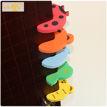 10pcs / Set EVA Door Stopper Protect Baby Safety Supplies Child Cartoon Cute Animal Shape Prevent Children From Being Damage