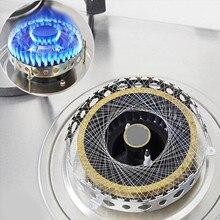 Behogar фонарь для газовой плиты из нержавеющей стали, энергосберегающий круглый ветронепроницаемый чехол, аксессуары для кухни