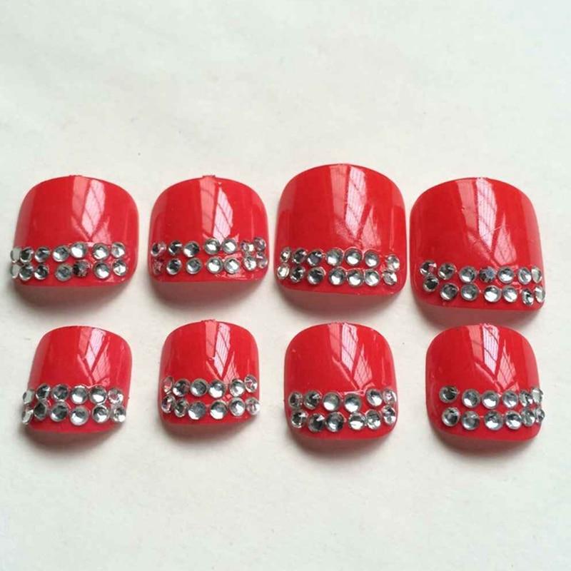 popular red acrylic nailbuy cheap red acrylic nail lots