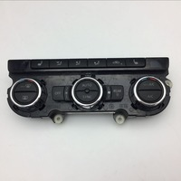 For VW Passat B7 Automatic Air Conditioner Switch Air Conditioning Climate Control Climatronic Panel Seat Heating