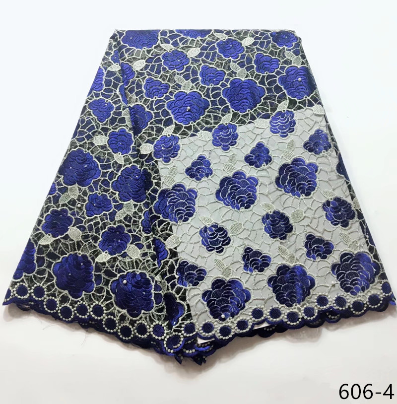 2019 High Quality African Lace Fabric Latest Embroidered Nigerian Mesh Tulle French Lace Fabric Blue 6062019 High Quality African Lace Fabric Latest Embroidered Nigerian Mesh Tulle French Lace Fabric Blue 606