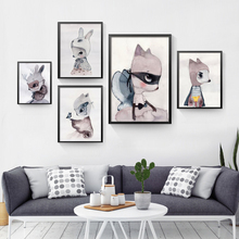 Nordic Decoration Girl Wall Art Canvas Painting Posters And Prints Nursery Pictures Cuadros Poster