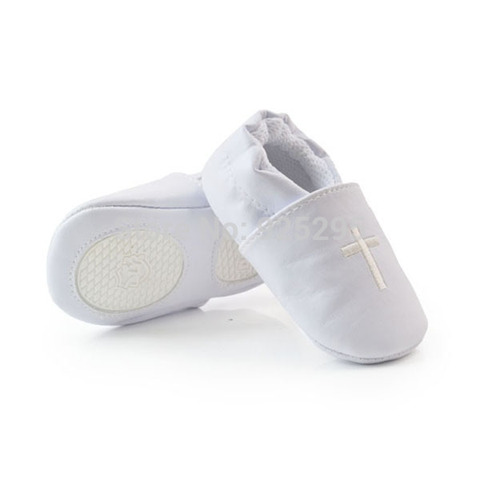 Unisex Toddler Baby Shoes Cross Baptism Shoes Church Soft Sole Leather Kids  Shoes Lahore