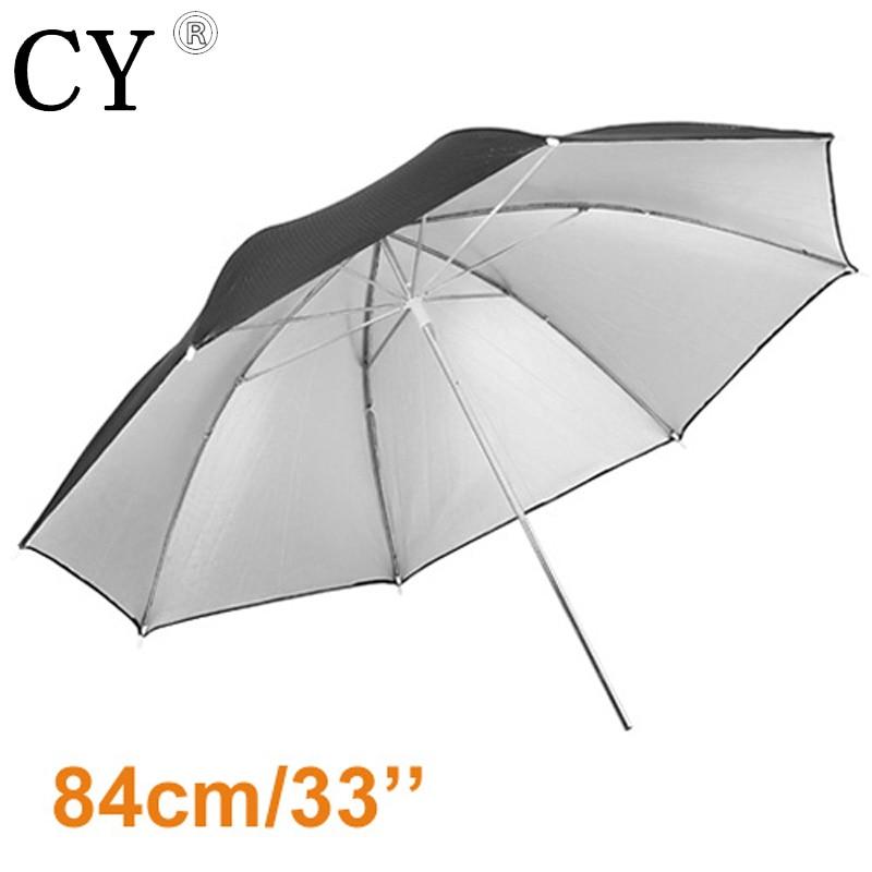Lightupfoto 33 84cm Studio Black/Silver Reflector Umbrella Studio Umbrella Fotografia Umbrella PSCU4A