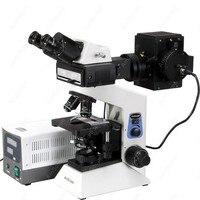 Epi-floresan Dürbün Bileşik Mikroskop AmScope Malzemeleri 40x-1600x Widefield Epi-floresan Dürbün Bileşik Mikroskop