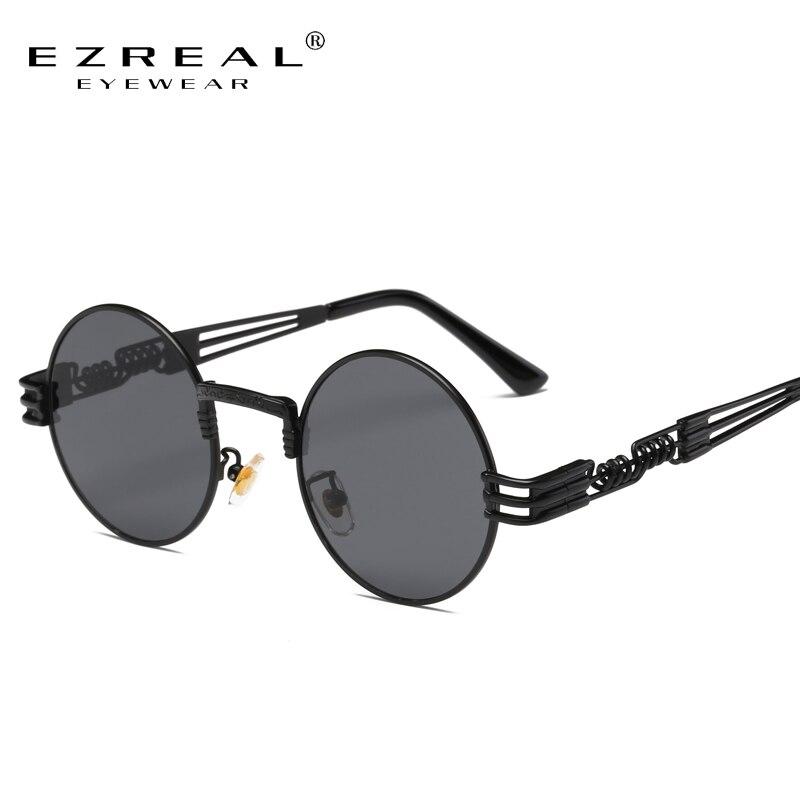 Ezreal redondo óculos de sol feminino designer de marca óculos de sol para óculos de liga feminina óculos de sol