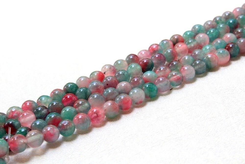291a430a4ea8 ... rosa púrpura patrón Natural blanco Jade piedra perlas para joyería  hacer DIY pulsera collar 8mm strand 15  . IMG 3113 IMG 3114 IMG 3115. Sobre  el envío