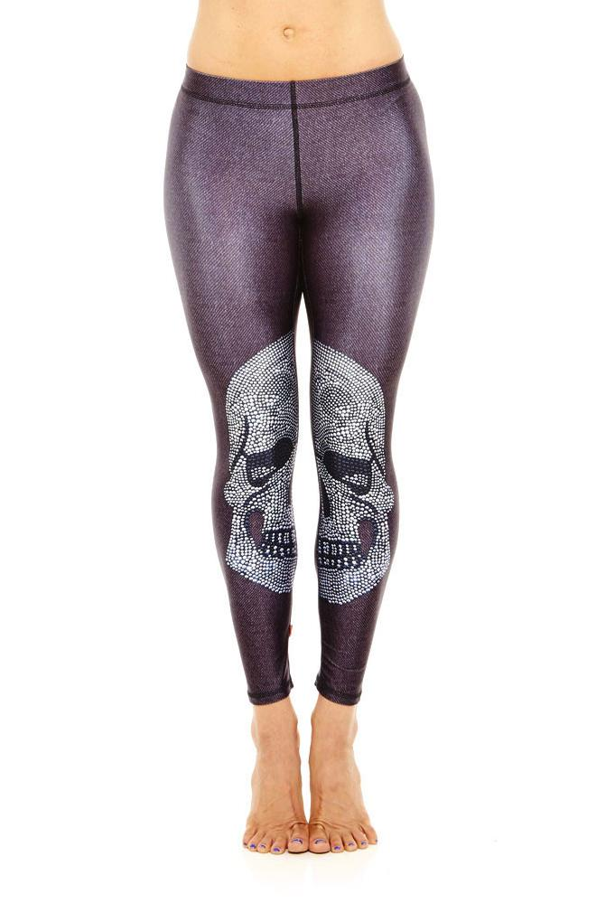 Popular Skull Leggings for Women Plus Size-Buy Cheap Skull ...