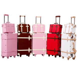 Vintage Luggage Trolley Travel Bag Box Suitcase The Wedding Picture Bags Sets Free Ship On Aliexpress Alibaba
