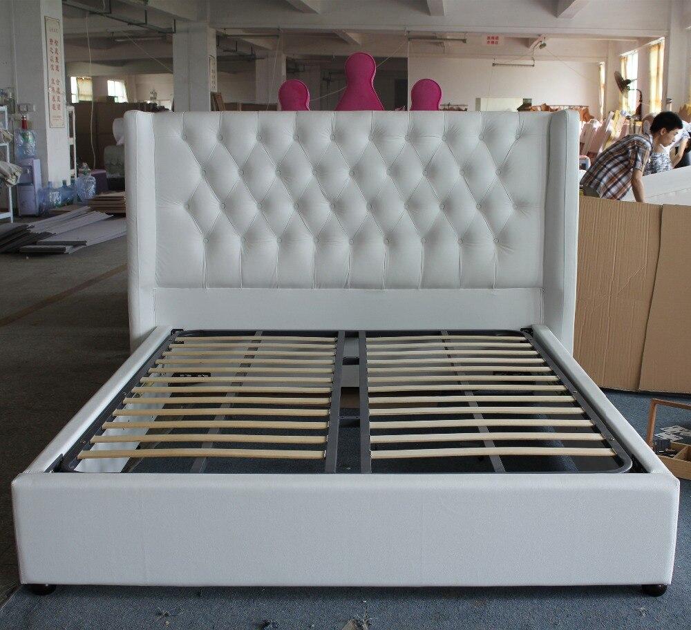 suave sinttico muebles de cama tela de cabecera europea estilo de doble marco en camas de muebles en alibaba group