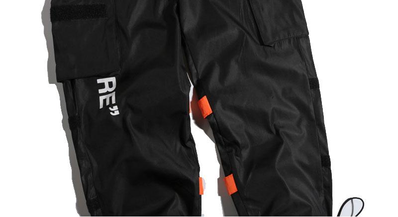 Side Pockets Cargo Harem Pants 7