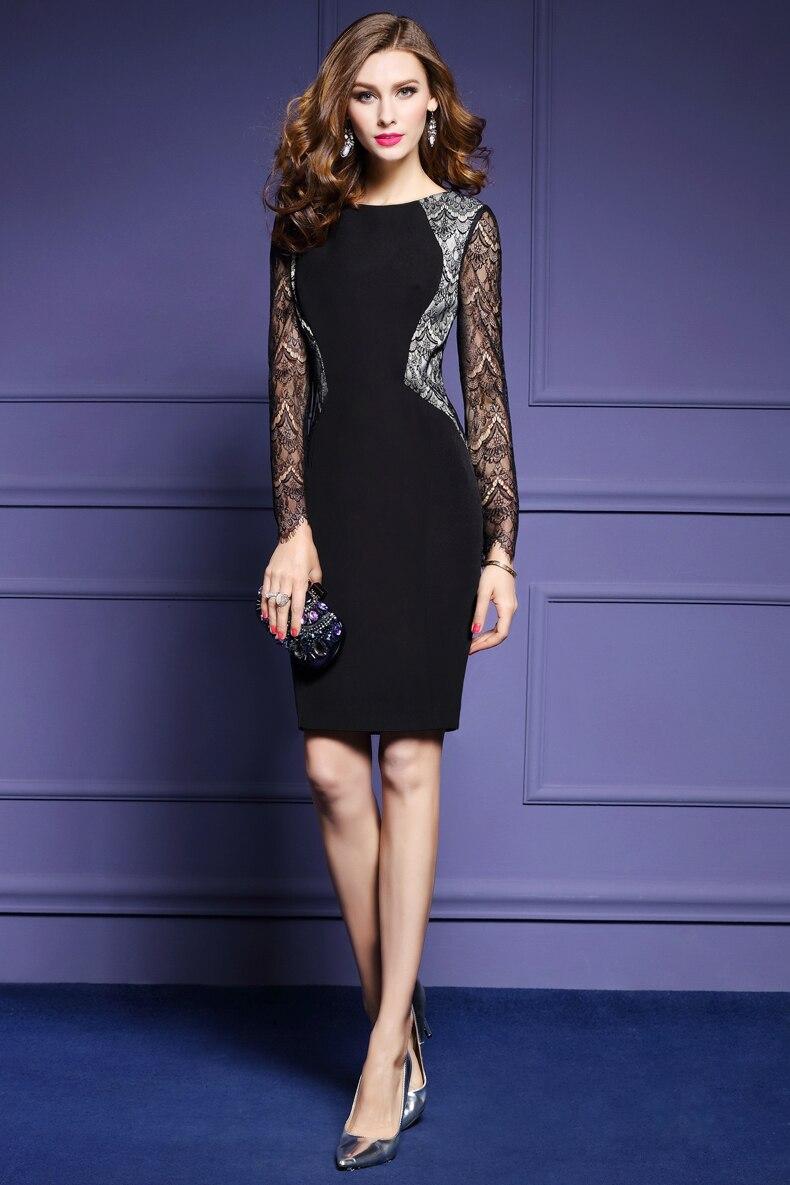 Lguc fall trendy social dress woman tight bodycon dress jpg 790x1185 Tight  wrap dress 628e8386de09