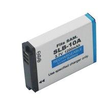 SLB10A SLB 10A 1200 mAh Oplaadbare Batterijen voor Samsung NV9/TL9 M310W L310W/SL310 L210 L110 L100 P1000 ES60 ES55/SL102 PM190