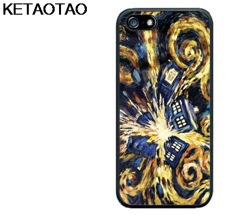 Phone Bags & Cases Ketaotao Tardis Doctor Who Incandescente Phone Cases For Iphone 4s 5c 5s 6s 7 8 Plus Xr Xs Max Xcase Soft Tpu Rubber Silicone