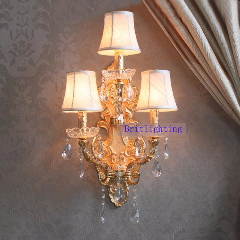 Balcony Wall Sconce Living Room Gold Wall Lamp With Fabric Shade Garden Indoor Wall Light Fixtures Porch Mirror Lamps Large владислав крапивин кратокрафан