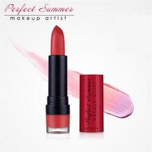 Perfect Summer Sexy Lipstick Moisturizer Smooth Lip Stick Long Lasting Matte Charming Lip Lipstick Makeup Cosmetic Lipstick