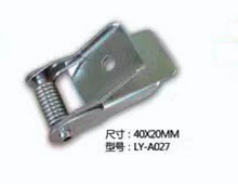 Manufacturer nickel plated flat metal panel pushing clips for recessed lighting