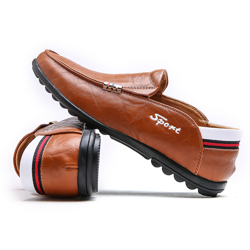 Plus Size Men Loafers Leather Shoes Mens Driving Moccasins Autumn Male Shoes Casual Mens Footwear Flats Walking Leather Sneakers klywoo handmade men leather shoes mens loafers summer autumn moccasins breathable mens shoes casual driving sapato masculino