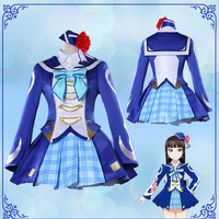LoveLive!Sunshine!! Anime cosplay Aqours Kurosawa Dia Halloween Unisex female cosplay party costume uniform