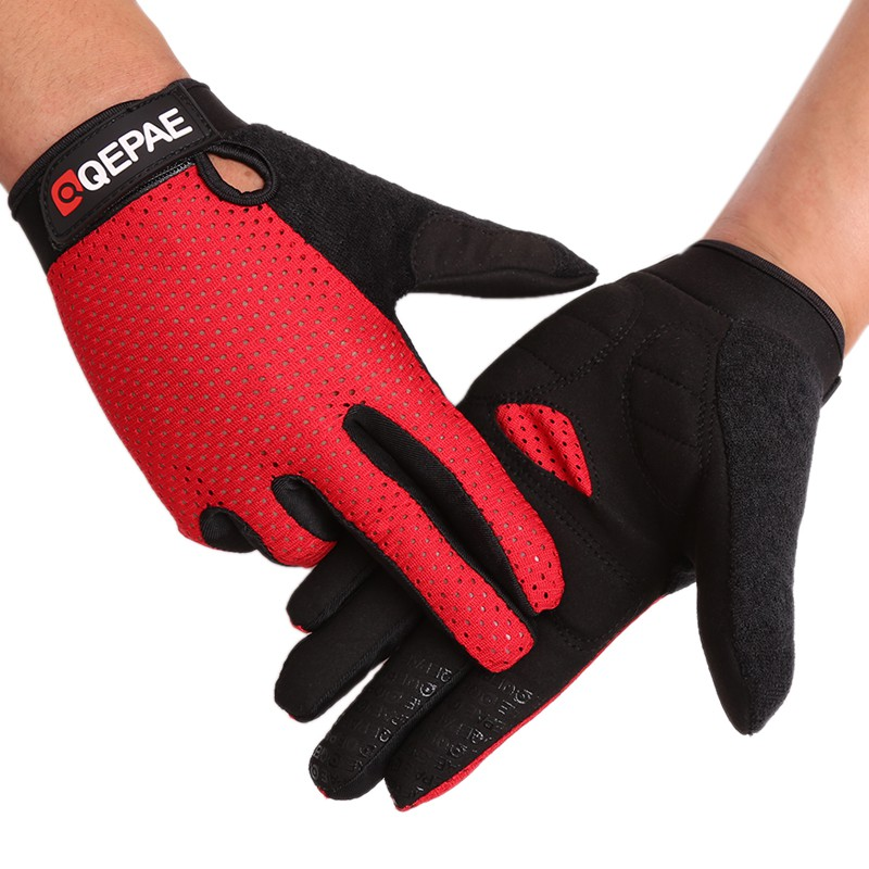 Summer fitness Motorcycle Road riding outdoor glove Full Finger High Quality Riding Gloves Women Men Bike Gloves fitness gloves thin spring summer outdoor sports fitness riding army fans fighting semi finger gloves