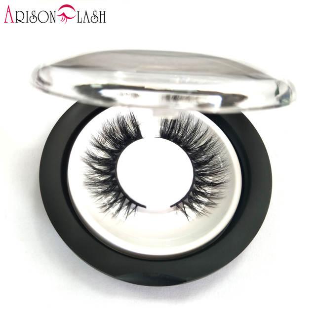 447a3401b17 placeholder Arison Sexy 100% Handmade 3D Mink Full Strip Lashes Beauty  Thick Long False Mink Eyelashes