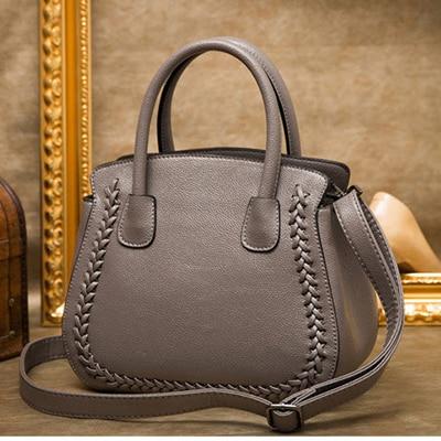 XIYUAN Luxury Women Leather gray Handbags Elegant Leather red gril Shoulder Bag Female purple Messenger Bags 2017 lady Tote Bags