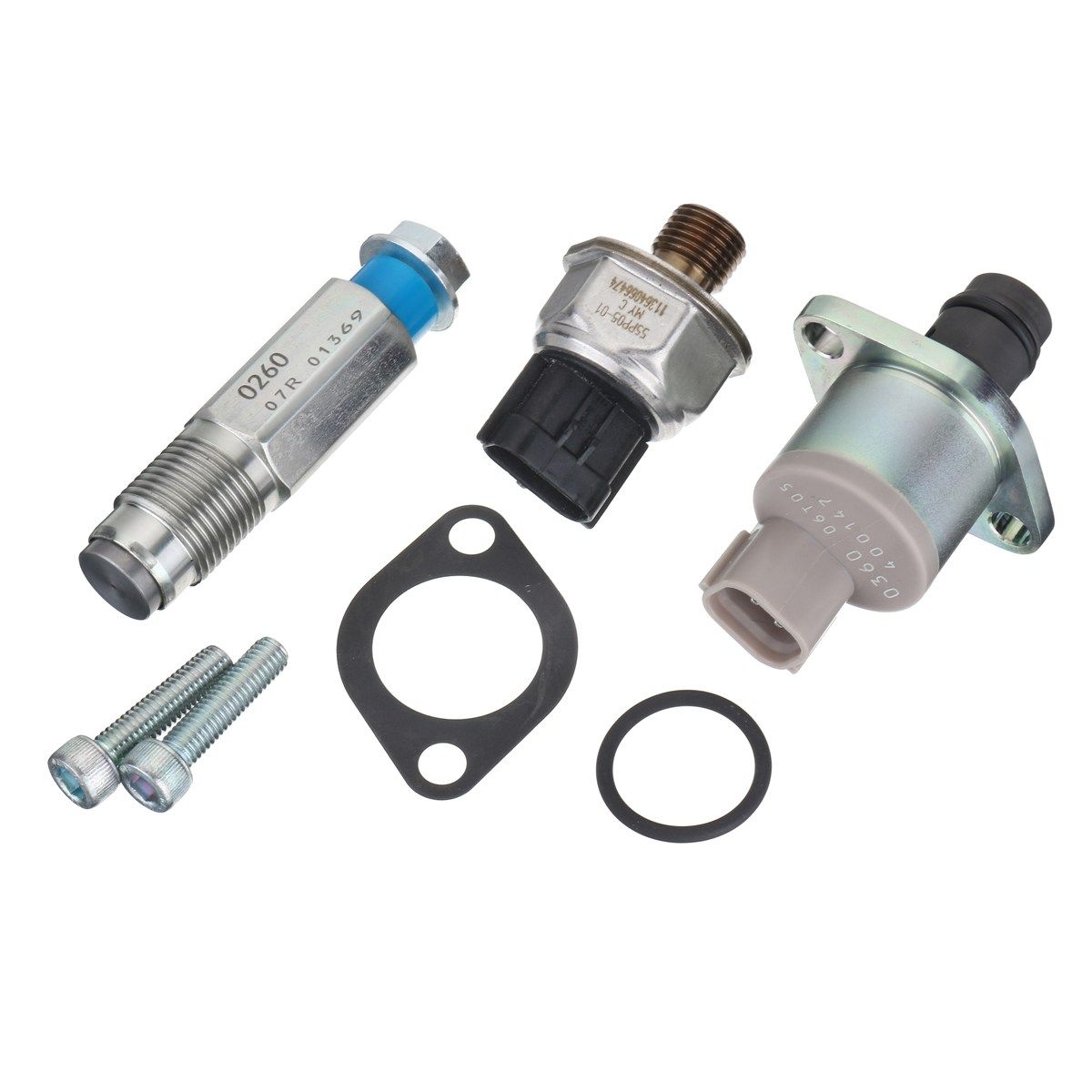 2.2 2.4 Fuel Pump Valve and Rail High Pressure Sensor For Ford/Fiat/Citroen/Peugeot/Diesel/Land Rover Tourneo DefenderTransit стоимость