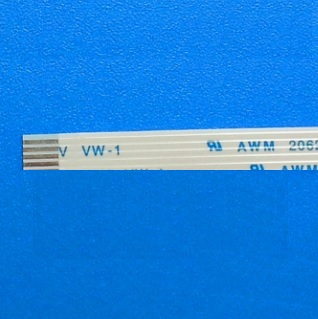 10pcs Flexible Flat Cable FFC 4 PIN Step 1.0 mm pitch different ends Length 50 60 70 80 100 120 150 200 mm reverse sides B Type