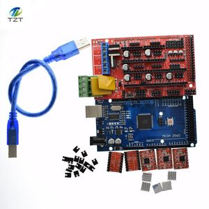 Image 3 - 1 stücke Mega 2560 R3 für Arduino + 1 stücke RAMPS 1,4 Controller + 5 stücke A4988 Stepper Fahrer Modul 3D Drucker kit Reprap MendelPrusa