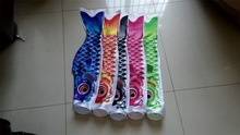 Wholesale,retail,free shipping,Carp fish flag carp carousingly koinobori 1.5m 1 pcs