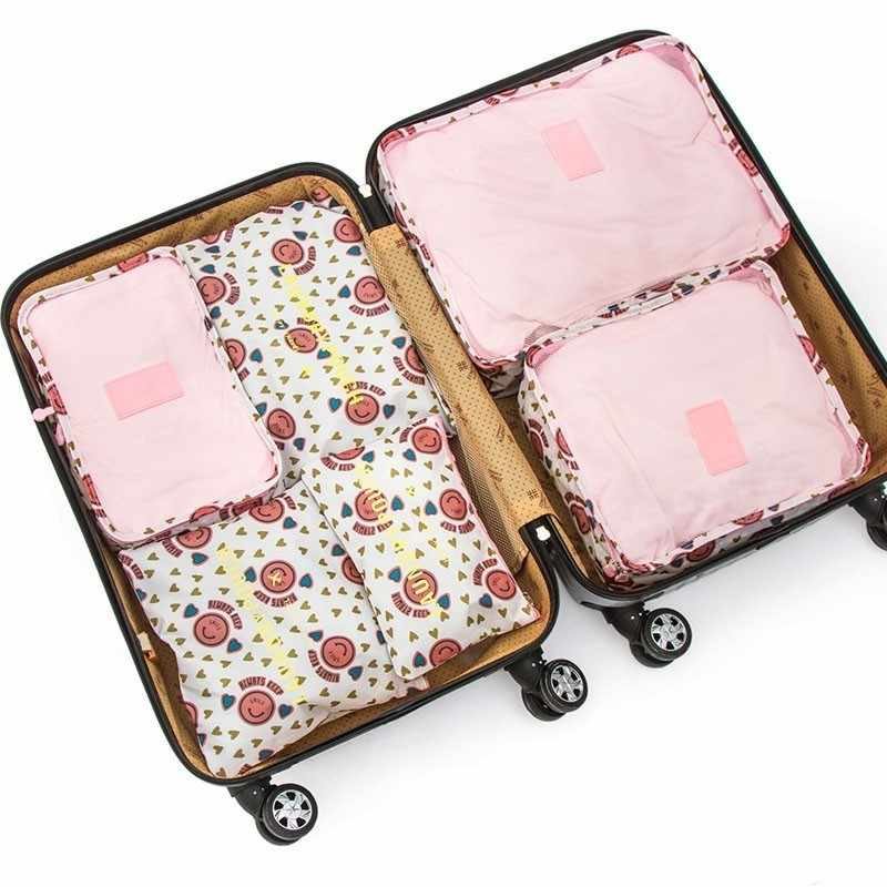 6pcs/set Closet Underwear Shoes Wardrobe Large Size Luggage Pouch Travel Storage Bag Organizer For Clothes