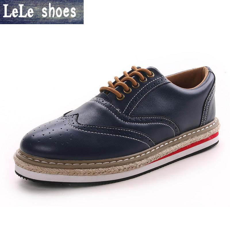 2016 New Fashion Genuine Leather Men Casual Oxford  Shoes Zapatillas Hombre Hot Sale Good Quality Comfortable Male Shoes leather casual shoes zapatillas hombre casual sapatos business shoes oxford flats hand made man shoe free shipping sv comfort
