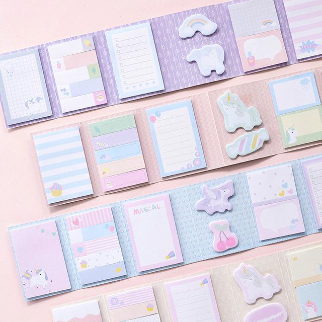 Kawaii Small Self-Adhesive Notepads
