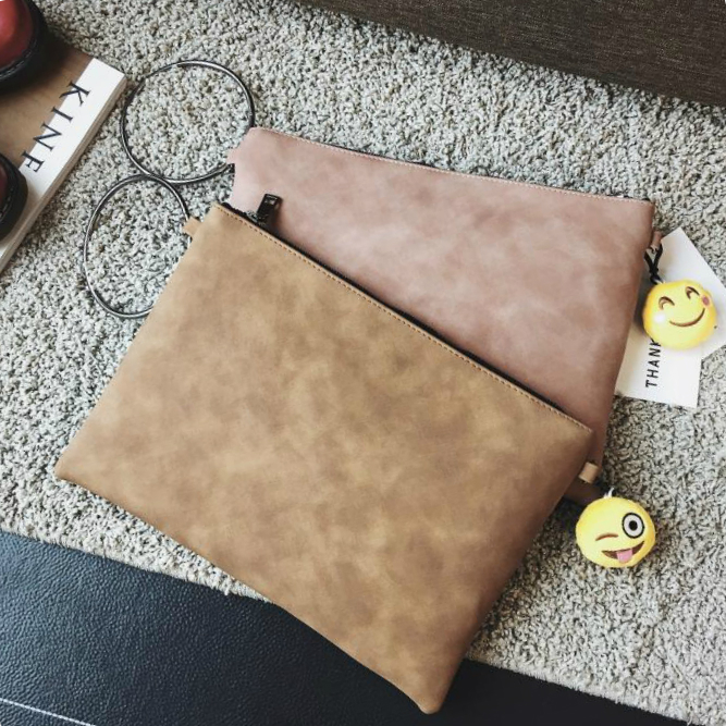 Fashion font b women s b font clutch bag pu leather women envelope evening bag for