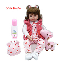 Toys Lol-Doll Reborn Birthday-Gift Lifelike Children 19inch Wholesale for And 48cm Bebe